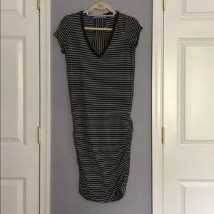 Striped Athleta Dress